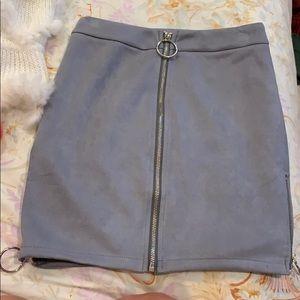 LF velvet skirt